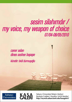 My Voice, My Weapon of Choice